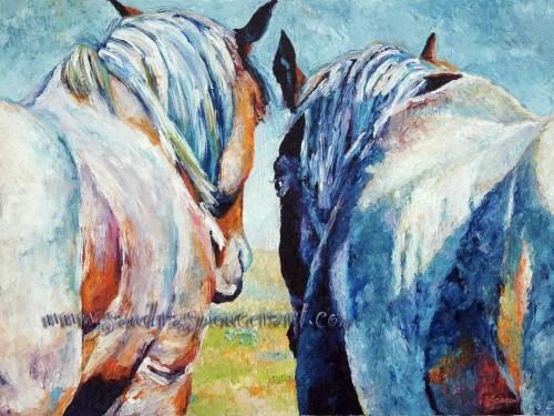 horsesrear18x24