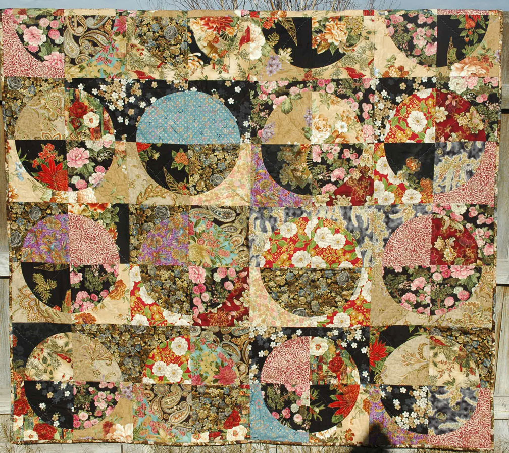 Asian quilting fabrics