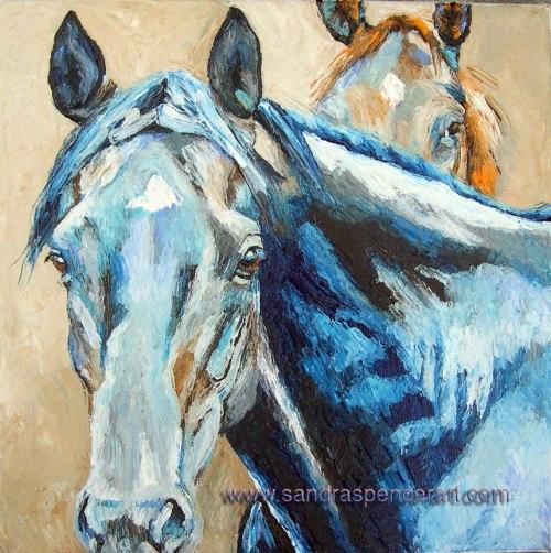 horsespeek12x12