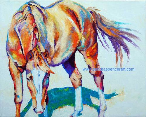 horserainbow16x20