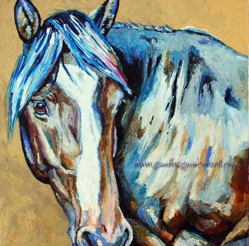 liverhorse18x18