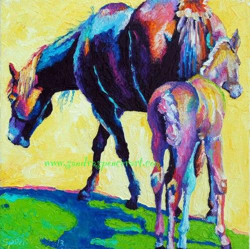 horsemamacolt12x12