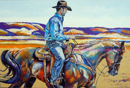 cowboy24x36