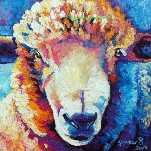 sheep12x12