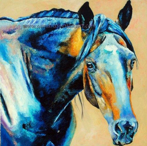 blackhorseportrait18x18