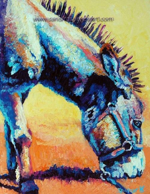 donkeyprofile11x14