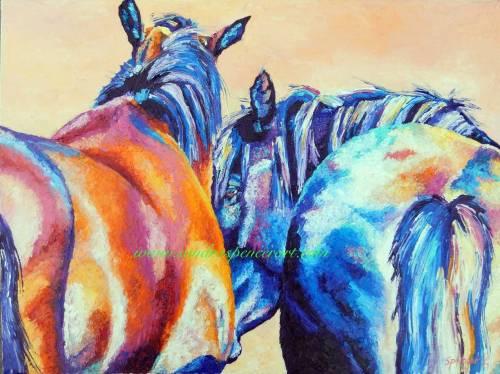 horsecuddle18x24