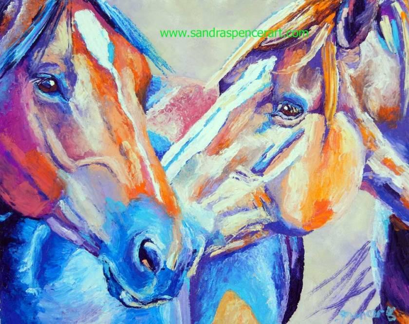 horsekiss11x14