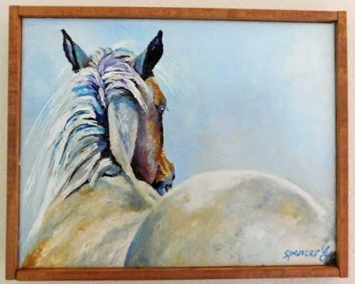horseframed11x14