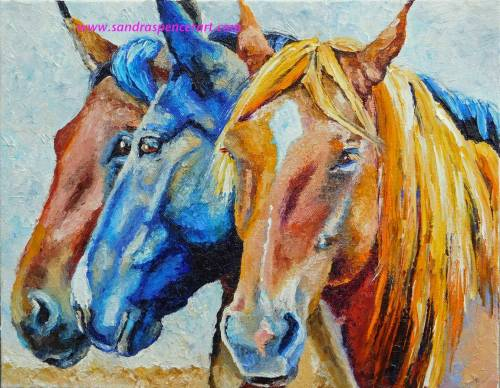 horses11x14