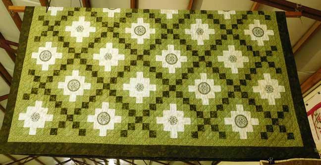 green-quilt