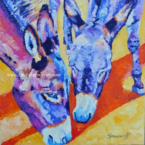 donkeys12x12