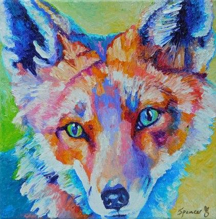 foxportrait12x12