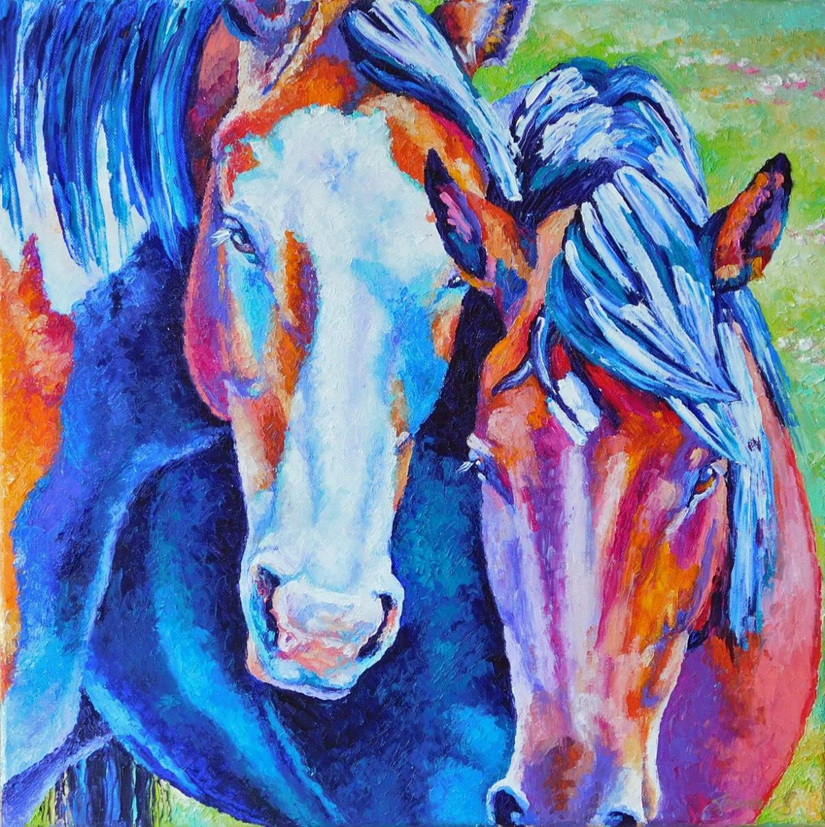 horsepair18x18
