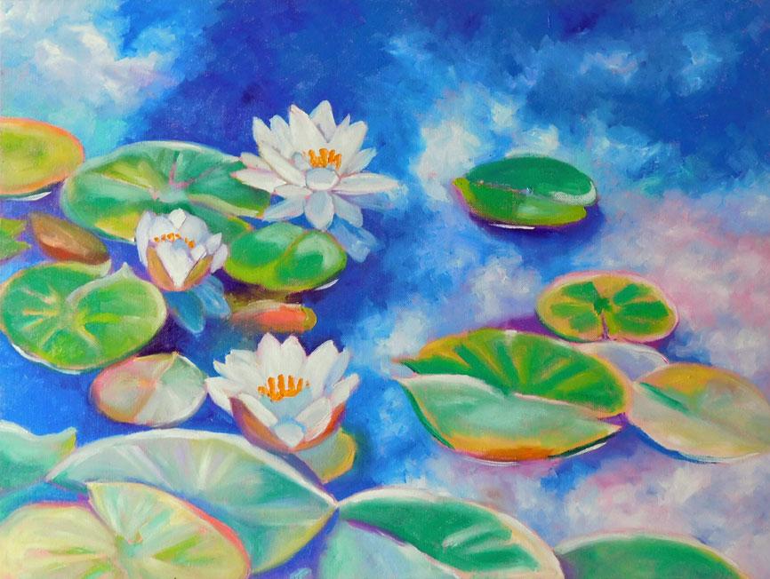 lilies18x24
