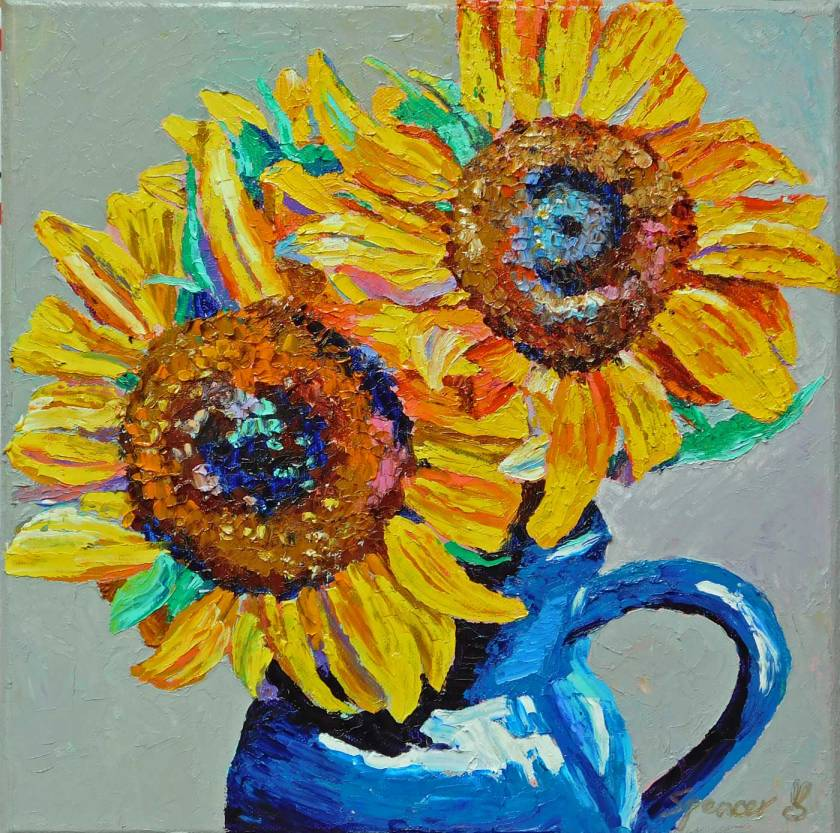 sunflowers12x12